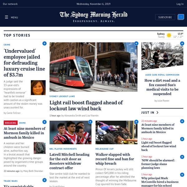 Sydney Morning Herald - Business & World News Australia