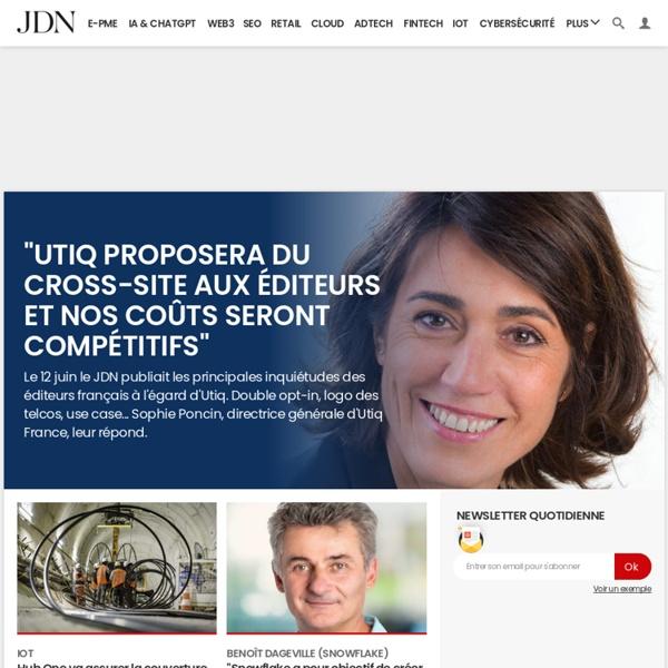 JDN : web & tech, media, management, business, patrimoine, vidéos, Premium et Le Hub