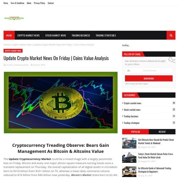 Update Crypto Market News On Friday