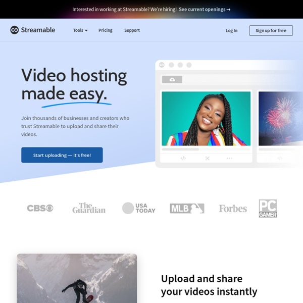 Streamable - simple video sharing