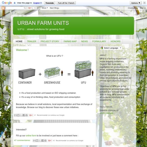 URBAN FARM UNITS