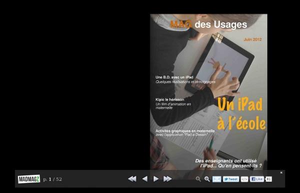 MAG des Usages - Un iPad à l'école
