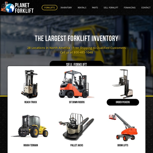 Buy new & used forklifts for sale
