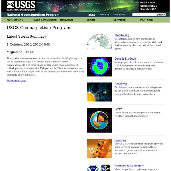 USGS National Geomagnetism Program