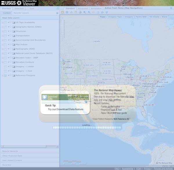 USGS TNM 2.0 Viewer