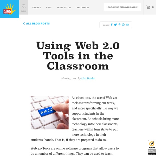 Using Web 2.0 Tools in the Classroom