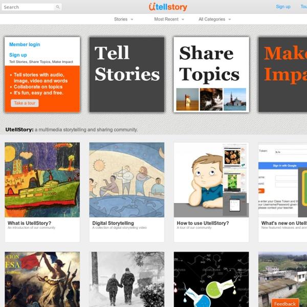 Tell Stories, Share Topics, Make Impact