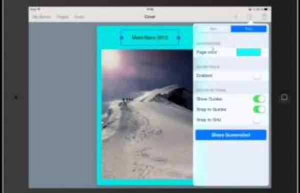 Créer un eBook avec votre iPad en utilisant Book Creator