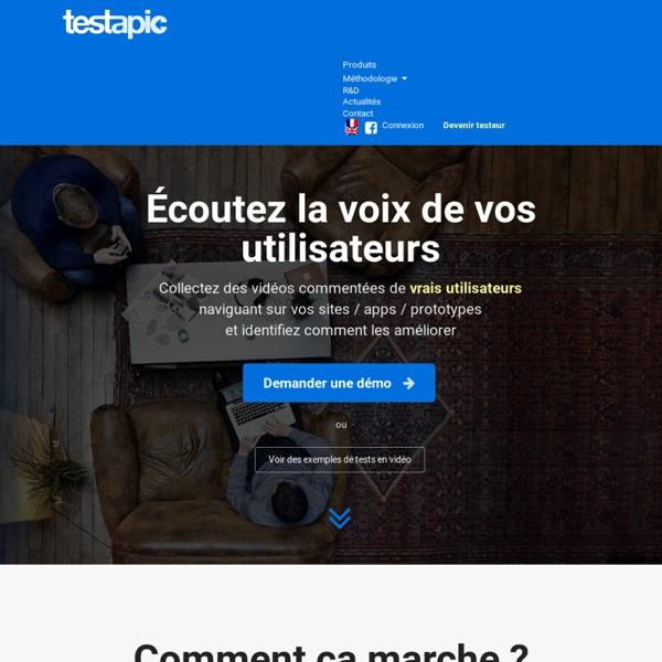 Test Utilisateur Distant - Ergonomie et UX des Sites et Apps