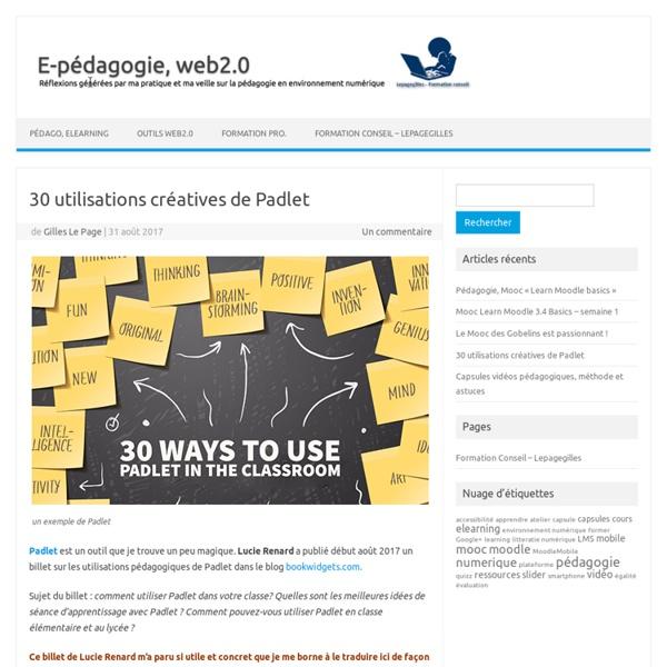 30 utilisations créatives de Padlet