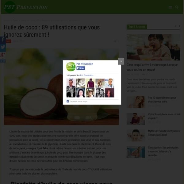 Huile de coco : lisse les rides