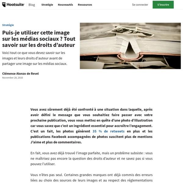 Utiliser une image sur les médias sociaux: comprendre le droit d'auteur