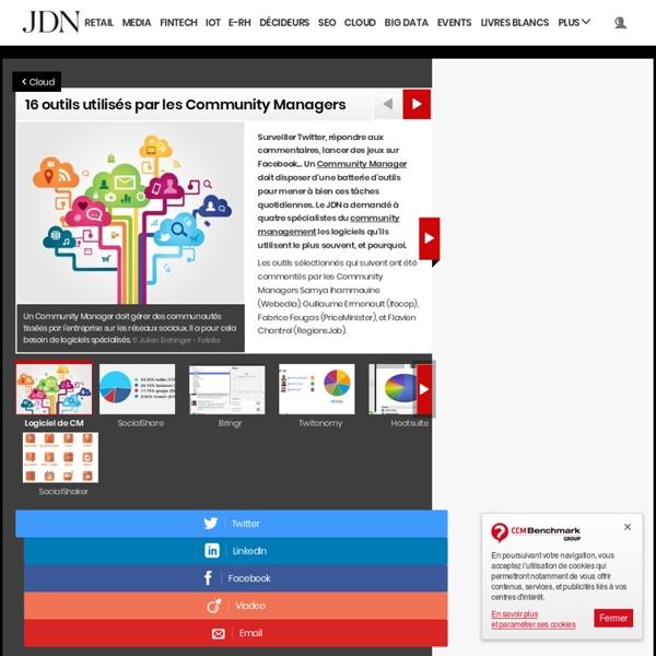 10 outils utilisés par les Community Managers