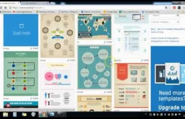 Come utilizzare Easel.ly per realizzare infografiche