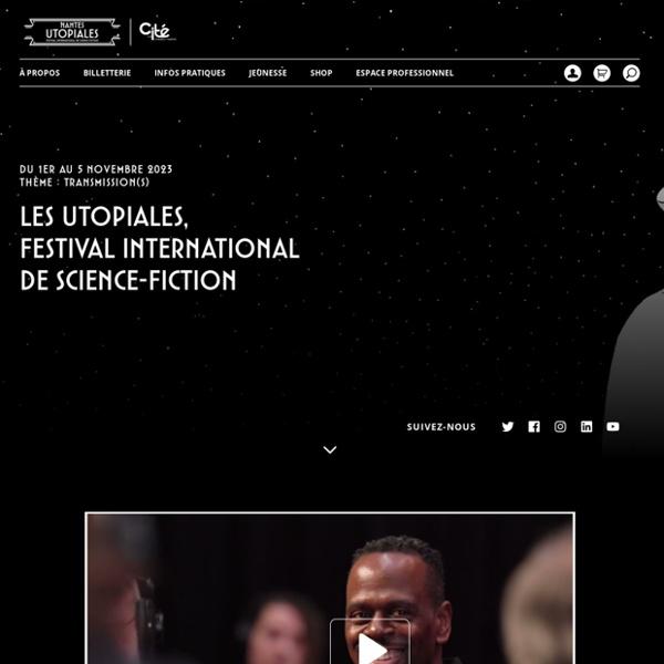 Les Utopiales,Festival internationalde Science-Fiction - Les Utopiales