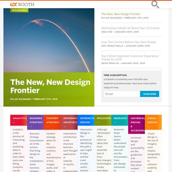 A User Experience Design Publication