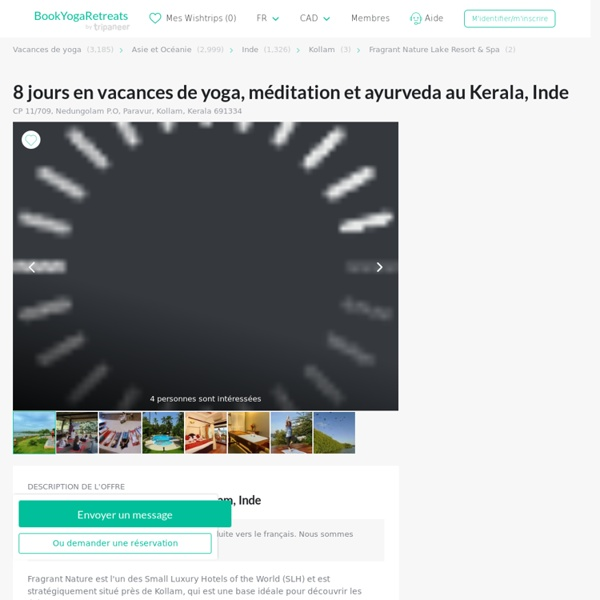 8 Days Ayurveda, Meditation, and Yoga Retreat in Kerala, India - BookYogaRetreats.com