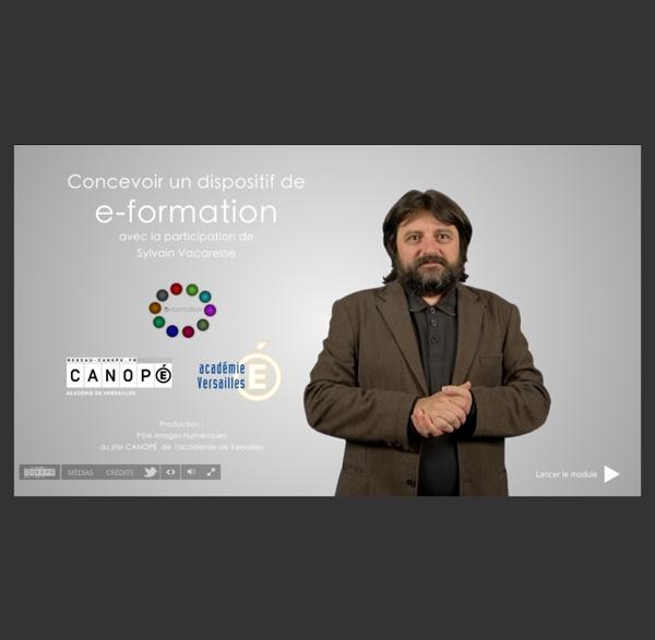 Module de Fo - Concevoir un dispositif de e-formation