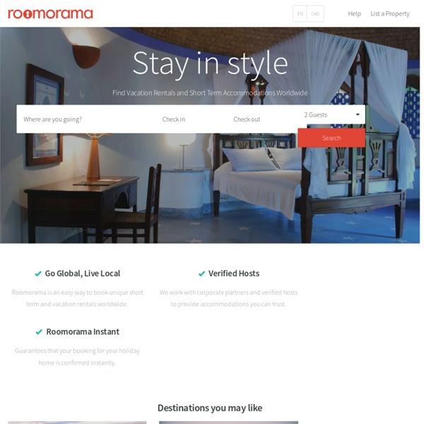 Roomorama - Short Term Rentals, Short Term Apartments & Furnished Apartments