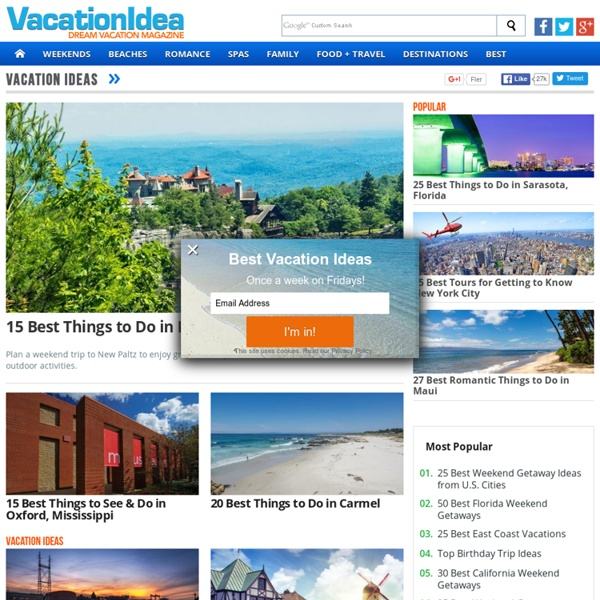 VacationIdea - Dream Vacation Magazine