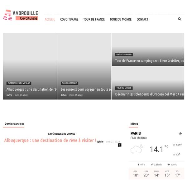 Covoiturage - Achat/Vente de places sur Vadrouille Covoiturage