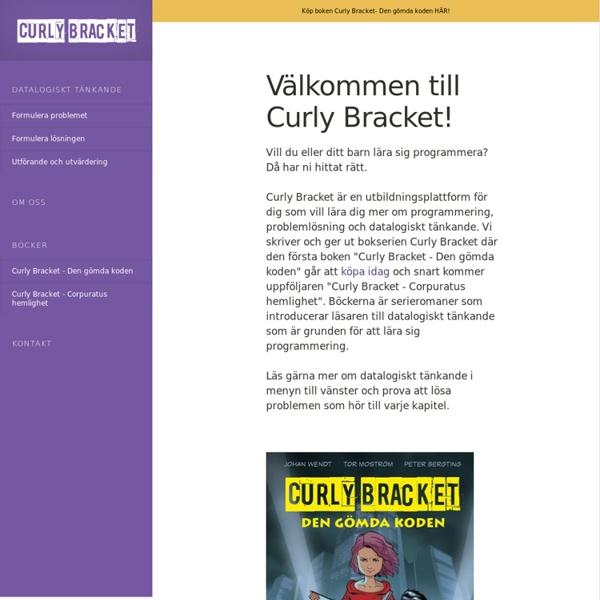 Välkommen till Curly Bracket – Curly Bracket