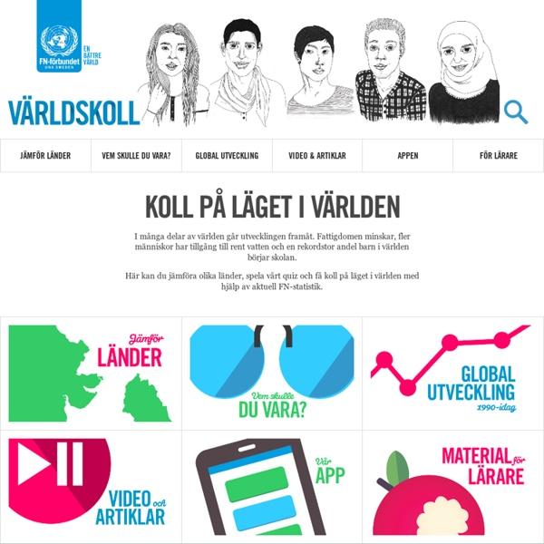 Världskoll - Koll på läget i världen