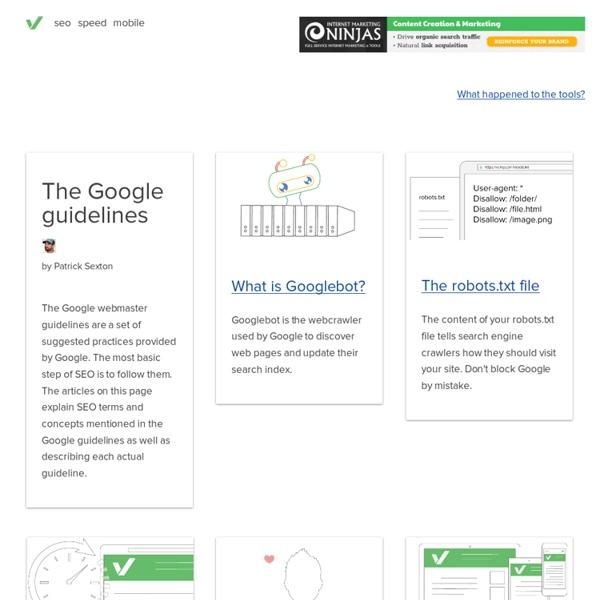 Comment suivre les directives de Google pour les webmasters