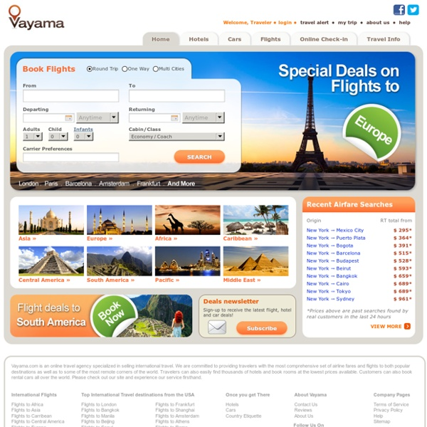 Vayama (international flights)