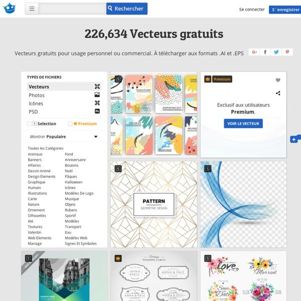 Vecteurs gratuits Plus de +63,000 fichiers aux formats AI, .EPS et .SVG
