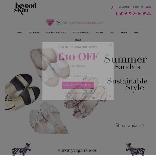 Designer Vegan Shoes uk, Vegetarian non leather quality designer footwear uk - Vegan Shoes, Vegetarian Shoes, Ethical and Stylish Footwear - Beyond Skin