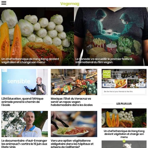 Site d'information sur le végétarisme et la protection animale