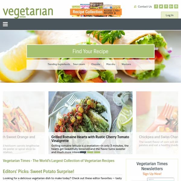Vegetarian Times - Great Food, Good Health, Smart Living