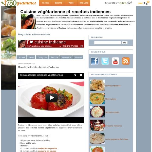 Recette de tomates farcies à l'indienne