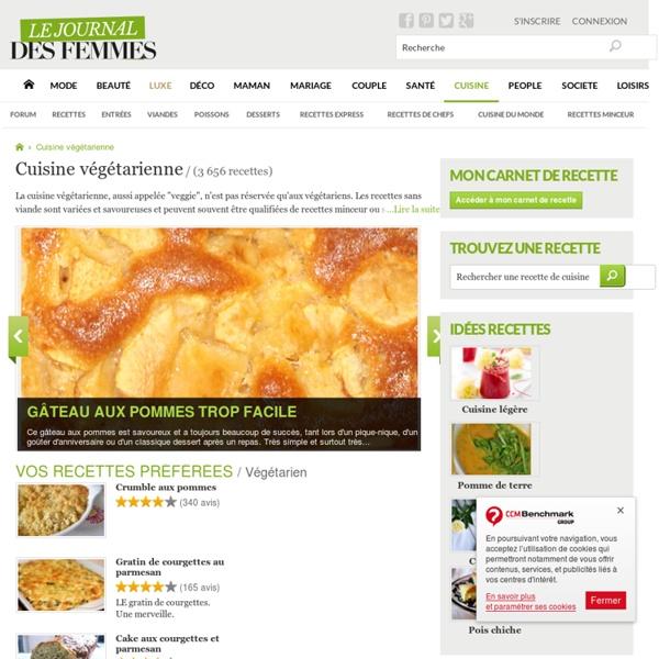 Recette végétarienne : les meilleures recettes sans viande