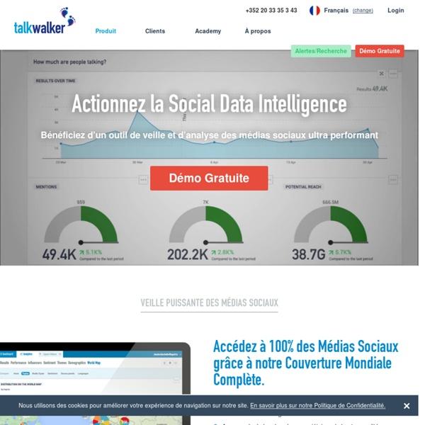 Outil de Veille & d'Analyse des Médias Sociaux