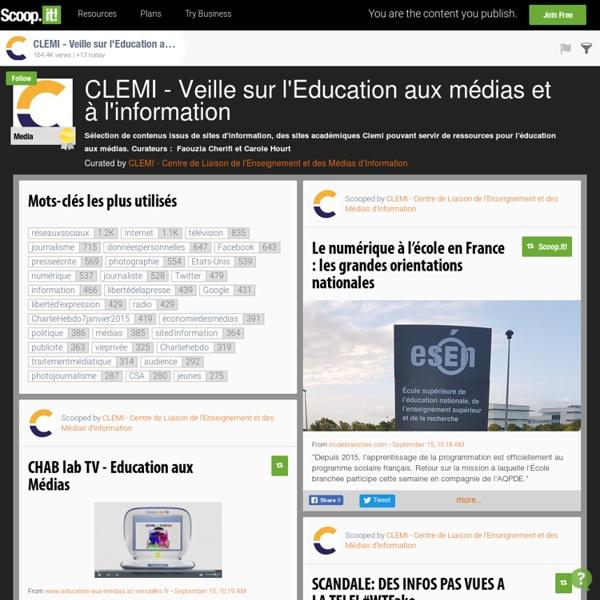 CLEMI - Veille sur l'Education aux médias et à l'information