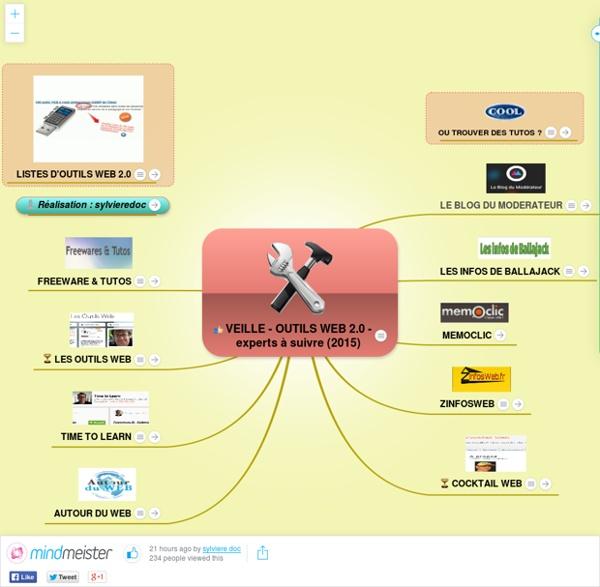 VEILLE - OUTILS WEB 2.0 - experts à suivre (2015)