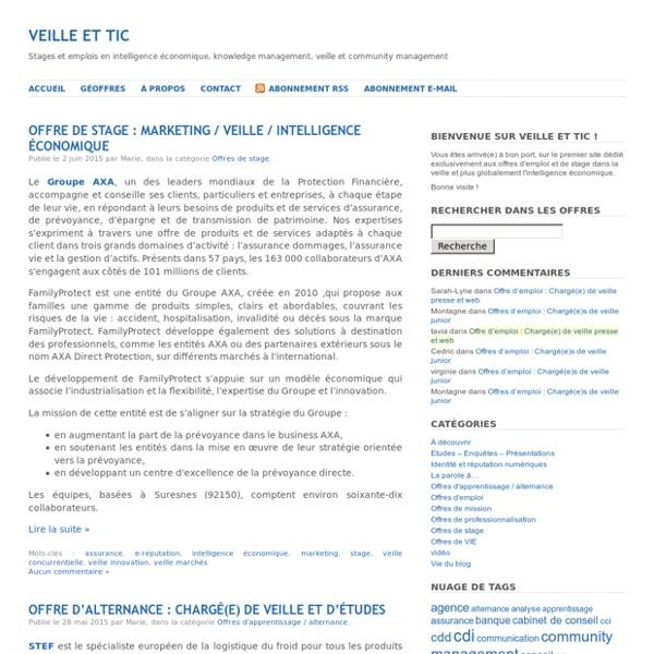 Veille et TIC