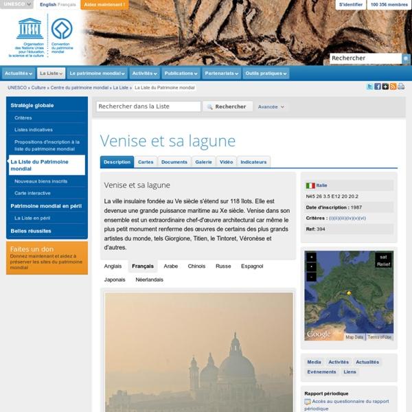 Venise et sa lagune, riche iconographie