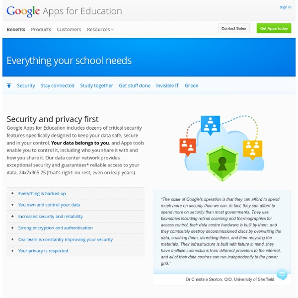 Collaboration – Google Apps for Education