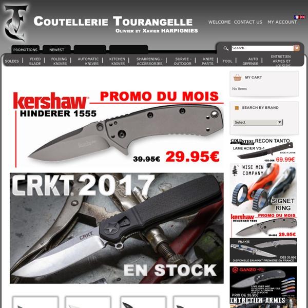 Vente de Couteaux en ligne : Coutellerie-tourangelle.com