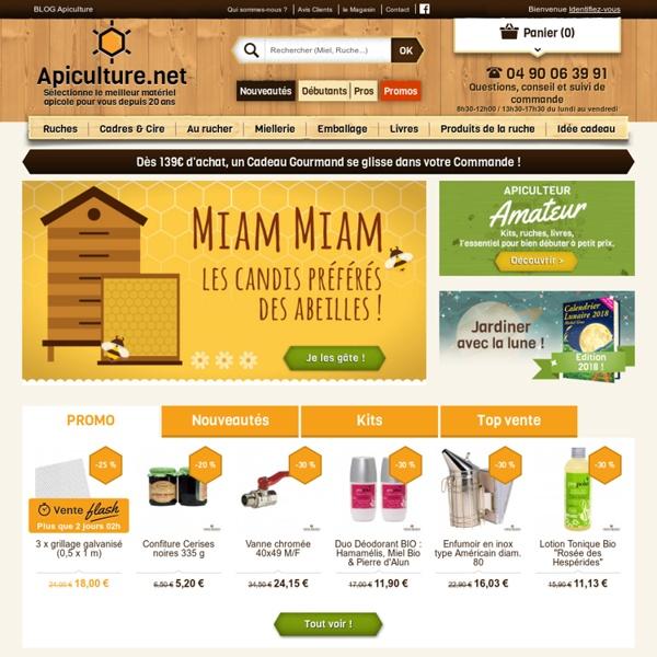 Vente en ligne de matériel d'apiculture - Luberon Apiculture