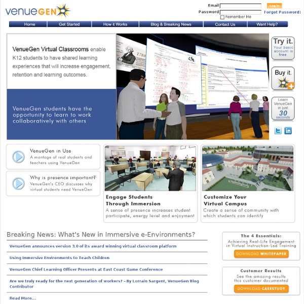 3D Virtual Meetings