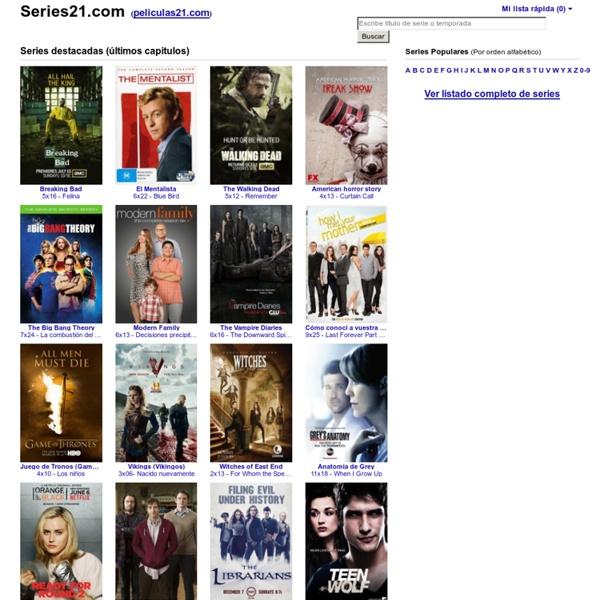 Ver Series TV Online