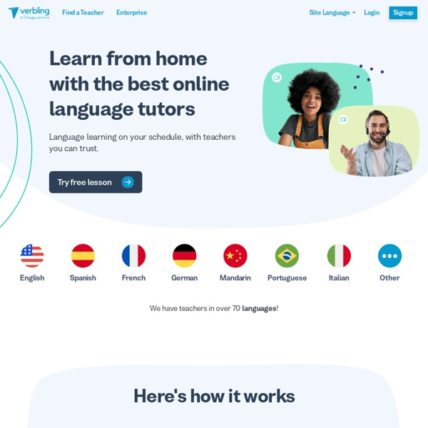 Verbling - Learn a language