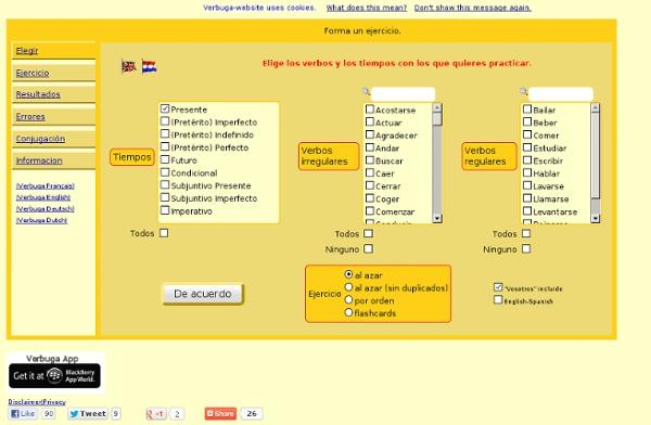 Conjugar verbos