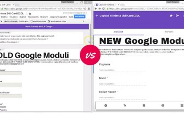 Nuovo Google Moduli: come creare verifiche, test e sondaggi