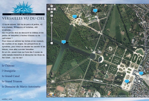 Versailles vu du ciel