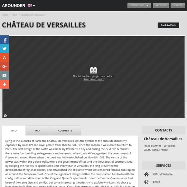 Versailles - garden - Château de Versailles - Historic building